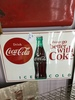 Coca cola pop sign
