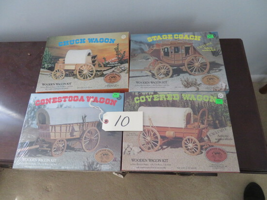 4 STAGECOACH PUZZLES