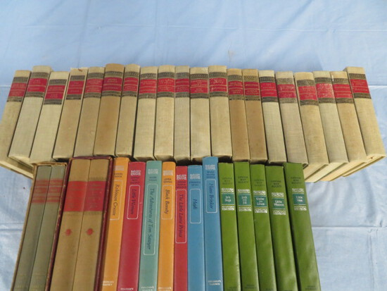 OLD BOOKS- LOUISA MAY ALCOTT& HOMER & OTHERS