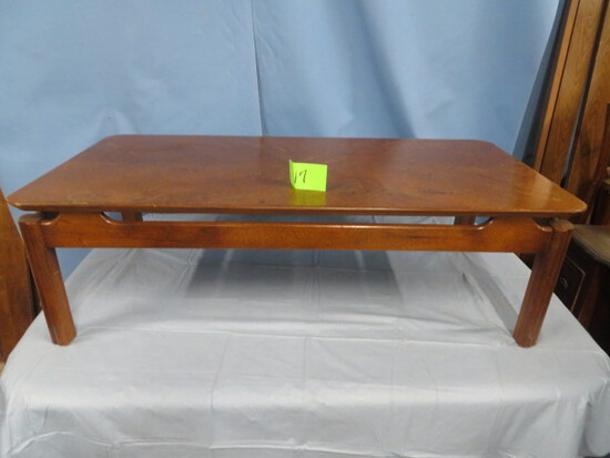 MID CENTURY LANE COFFEE TABLE  W/ SERIAL # SEE PHOTO