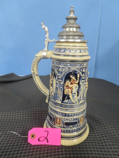 ANTIQUES- GERMAN STEINS, OLYMPIC PIN COLLECTION