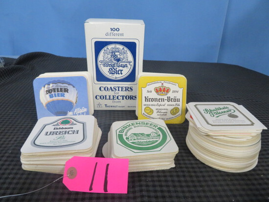 COASTERS FOR COLLECTORS FOR THE WALT GERMANY