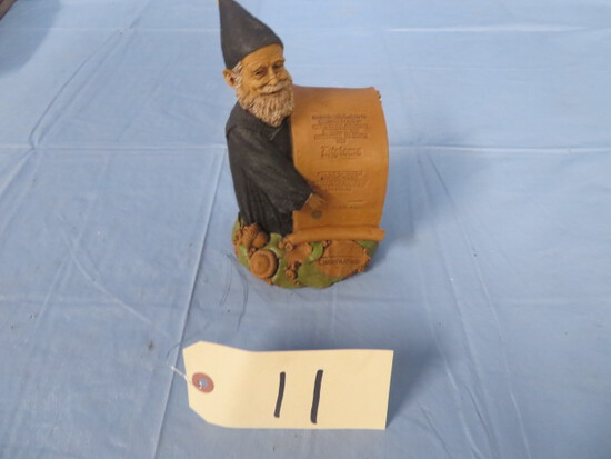 "TOM CLARKE GNOME- "" CONGRATULATIONS"""