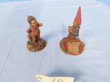 2 TOM CLARK GNOMES-