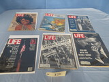 LIFE MAGAZINES FROM THE 1960'S & 70'S