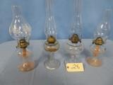 4- OIL LAMPS
