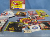 MIXED LOT OF NASCAR POSTERS & PRINTS