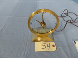 GOLDEN VISIONETTE CLOCK BY HADDON PRODUCTS