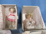4 PC. SHIRLEY TEMPLE DOLLS- NEW IN BOX