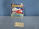 AIRPORT SIGN  9 X 8