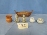 5 PC. POTTERY SOME ARE WILLIAMSBURG