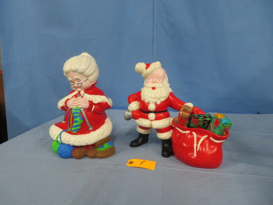 "CHRISTMAS FIGURINES 12"" T"