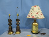BRASS LAMP & EAGLE LAMPS