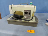 VINTAGE SEARS SEWING MACHINE IN CASE