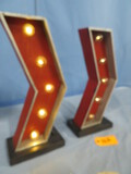 LIGHTED METAL SIGNS