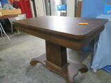 ANTIQUE CONSOLE TABLE W/ DRAWER 43 X 26 X 30
