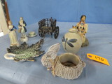 LOT OF COLONIAL FIGURINES, OCCUPIED JAPAN