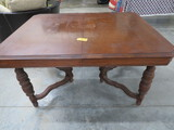 ORNATE DECO DINING TABLE  42 X 53