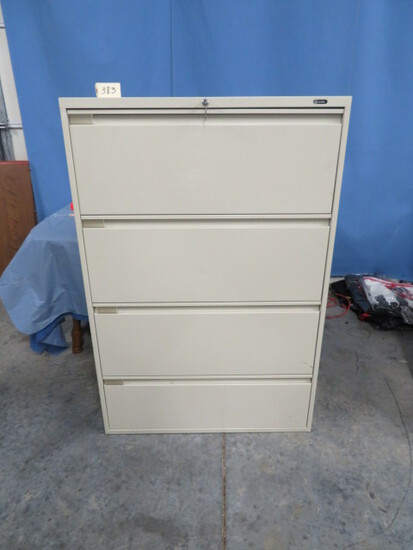 GLOBAL LATERAL FILE CABINET  28 X 36 X 54 T