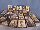 ASST OF PHOTOS OF TV & MOVIE PERSONALITIES SOME SIGNED PCS