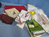 LARGE LOT OF TABLE LINENS