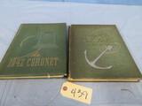1941 & 42 QUEENS COLLEGE YEARBOOKS