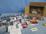 BOX FULL OF CD'S