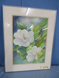 FRAMED WATERCOLOR OF