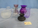 MIXED LOT OF VASES