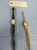 2 LADIES WATCHES- PULSAR & TIMEX