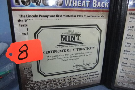 1940'S WHEAT PENNY  1940-49