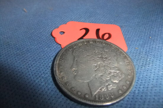 1868 MORGAN SILVER DOLLAR