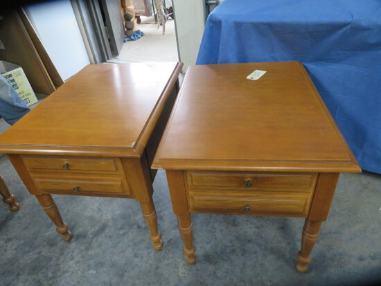 MATCHING  COFFEE TABLE & 2 END TABLES