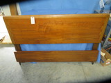 LANE DOUBLE BED W/ DOVE TAIL INLAY