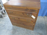 PINE CHEST OF DRAWERS  36 X 24 X 37 T