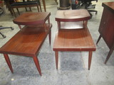 3 PC. SET MID CENTURY TABLES  28 X 18 AND 20 X 23