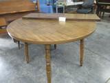 round kitchen table 42