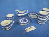 MISC. BLUE WILLOW DISHES