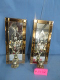 MIRRORED HANGING CANDLE HOLDERS  14