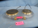 COMMAND PERFORMANCE GOLD DOUBLE BURNER HOT PLATE