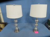 PAIR OF MATCHING LAMPS  31
