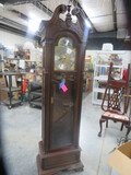 GRANDFATHER CLOCK MADE IN USA TREND BY SLIGH - HAS WEIGHTS AND PENDULUM & KEY  82