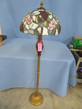 STAINED GLASS FLOOR LAMP  58