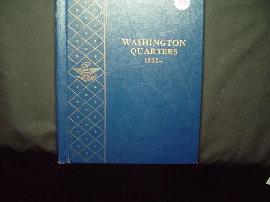 25 Cent Washington Album 1932 - 1964  VG - AU Missing '32-D & '32-S  81 Total