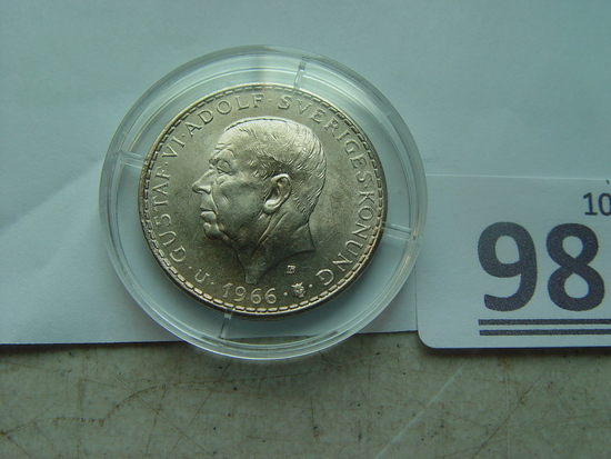 Sweden 1966 5 Silver Kronor