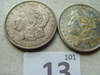 1921 Silver Dollars