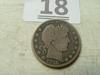 1915-S Barber Half Dollar