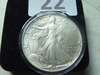 1986 Silver Eagle, With Case