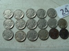 (17) Buffalo Nickels, 37-D, 29, 16-D