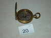 Compass, WW2 Army Surplus probably made by American Waltham Watch Co. 2 pics Stamped U. S.
